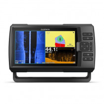 """Garmin STRIKER Plus 9sv 9"""" CHIRP Fishfinder with GPS and ClearVu and CV52HW-TM Transducer"""