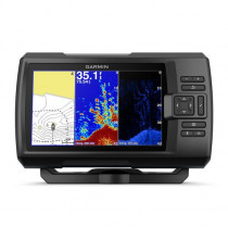 "Garmin STRIKER Plus 7cv 7"" CHIRP Fishfinder with GPS and ClearVu and CV20-TM Transducer"