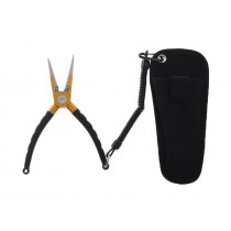 Catch Multi-function Fishing Pliers 7.5in Black/Gold