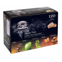 Bradley 5 Flavour Variety Bisquettes 120 Pack