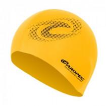 Aropec Adult Silicone Volume Swim Cap Yellow
