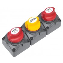 BEP Battery Distribution Cluster For Single Engine with Two Dedicated Battery Banks