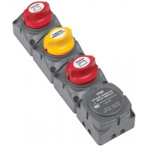 BEP Dual Battery Switches with DVSR