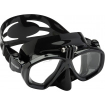 Cressi Action Mask and Mexico Snorkel Set with GoPro Mount