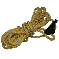 Kiwi Camping Canvas Tent Guy Ropes with Heavy Cam Buckles Qty 4