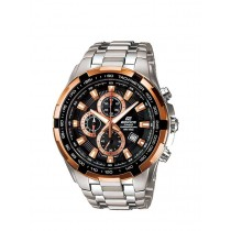 Edifice EF539D-1A5 Chronograph Dial Stainless Steel Band Watch 100m
