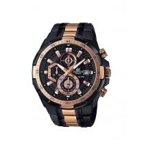Edifice EFR539BKG-1A Chronograph Watch 100m