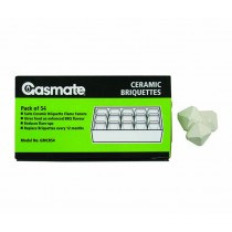 Gasmate Ceramic Briquettes - Pack of 54