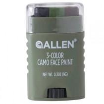 Allen 3 Colour Camo Face Paint Stick