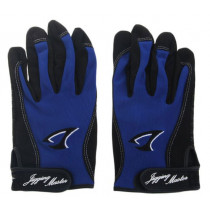 Jigging Master 3D Fishing Gloves Blue