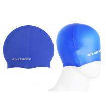 Aropec Kids Silicone Swim Cap Blue