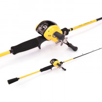 TiCA Tactica LCX100R and CNLA60MH2C Jig Combo 6ft 10-20lb 2pc