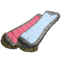 Coleman Foxy Lady C0 Hooded Sleeping Bag Pink