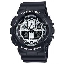 G-Shock Black and White Series GA100BW-1A Watch 200m