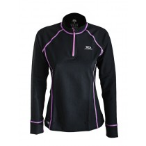 Aropec Zip Up Quick-Dry Womens Long Sleeve Thermal Top
