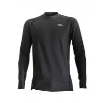 Aropec Quick-Dry Mens Long Sleeve Thermal Top Black