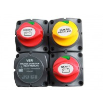 BEP Marine Dual Battery Charging Cluster for Single Engines