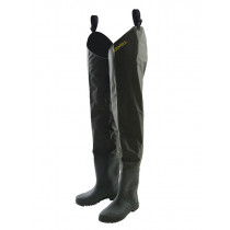 Kilwell Hip Waders with Cleated Soles Olive