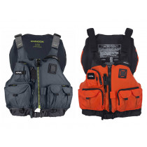 NRS Chinook Mesh Back Fishing USCG Type III PFD Life Jacket