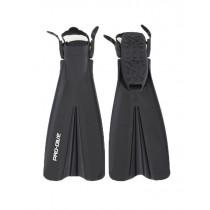 Pro-Dive Open Heel Dive Fins Black