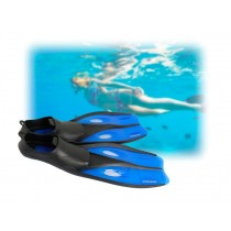 Mirage Quest Fins Blue Small US Size 3-6 (Bigger Kids)