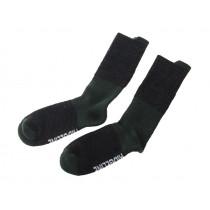 Ridgeline Gumboot Merino Sock Black/Olive S