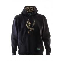 Ridgeline Mens Kahu Hoodie Black/Buffalo Camo