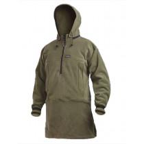 Swazi Nahanni Polar Fleece Shirt with Detachable Hoodie Tussock 2-XLarge