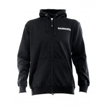 Shimano Black Zip-Up Fleece Hoodie