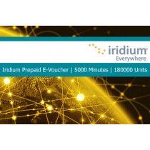Iridium Pre-Paid E-Voucher 5000 Minutes or 300000 Units 2 Year Validity