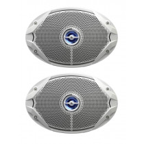 JBL MS 9520 Coaxial Waterproof Marine Speakers 6x9'' 300W
