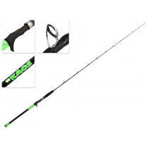 Shimano #KAOS Overhead Lure Rod 6ft 4in 45-160g 1pc Lime Green