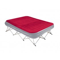Kiwi Camping Deluxe Serenity Velour Airbed with Portable Frame