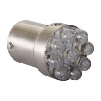 LED Bayonet Bulb 15D Type Non Parallel Pins 7W 12v