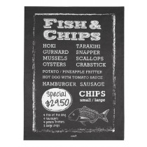 Fish and Chips Tea Towel