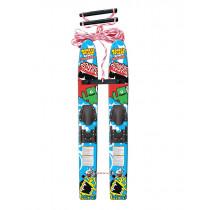 Airhead Monsta Splash Trainer Skis 122cm