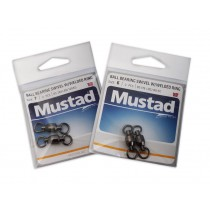 Mustad Ball Bearing Swivel with Welded Rings