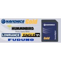 Navionics Gold Western Europe SD/MSD Chart Card