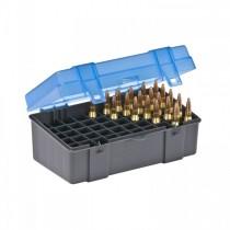 Plano 122950 Medium Rifle Ammo Case 50 Rounds Blue