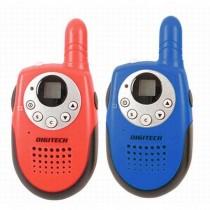 Digitech 80 Channel Walkie Talkie Set Red and Blue