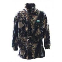 Ridgeline Mens Classic Fleece Bushshirt Buffalo Camo Large