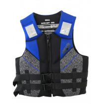 Ron Marks Mens Super Soft Neoprene PFD Life Vest Blue