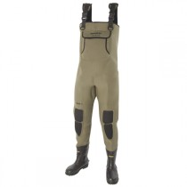 s12081_snowbee_neoprene_chest_wader_granite_with_boot