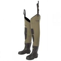 s12082_snowbee_neoprene_thigh_wader_granite_with_boot
