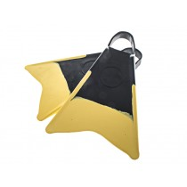 Extreme Limits Yellowtail Surf/Bodyboard Fins Black/Yellow