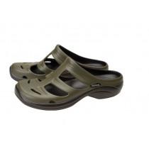 Shimano Evair Boat Sandals Green/Black US11