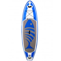 AquaWarrior Deluxe Inflatable SUP board 11ft