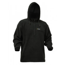 Swazi The Hood Polar Fleece Hoodie Black