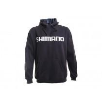 Shimano Collage Hoodie Charcoal