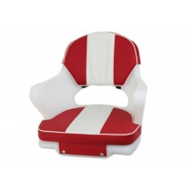 Hi-Tech Upholstery for 3000 Boat Seat Red/White